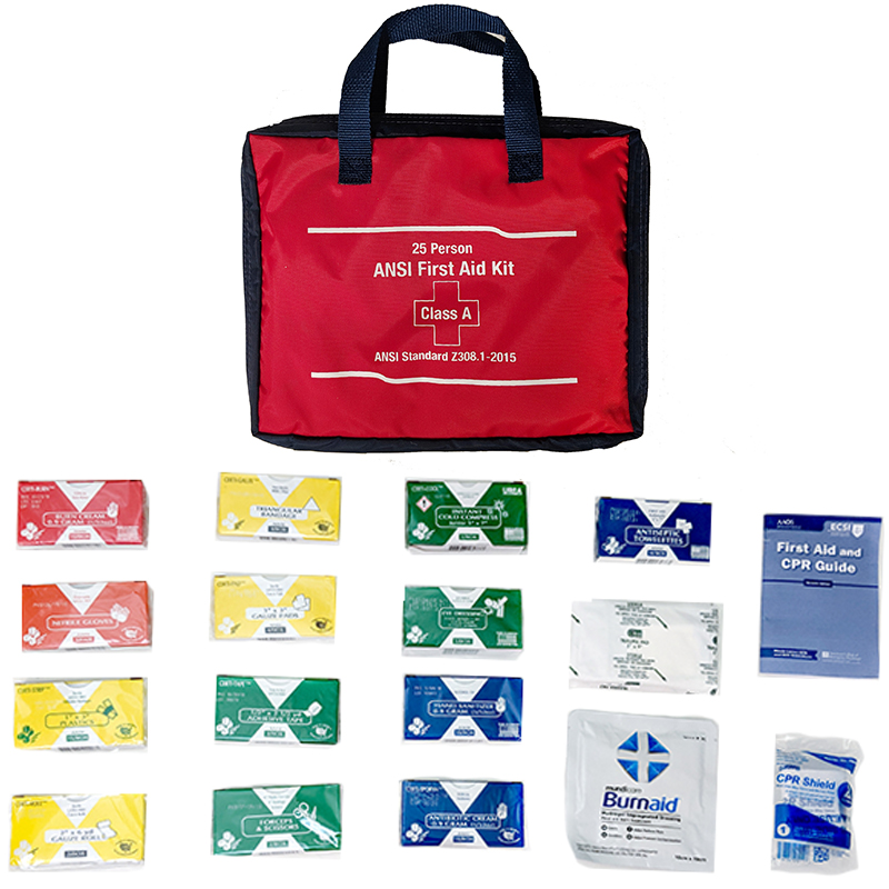 Workplace ANSI Compliant First Aid Kits -