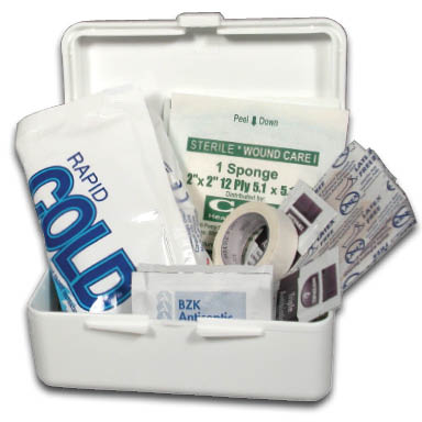 image of companion first aid kit
