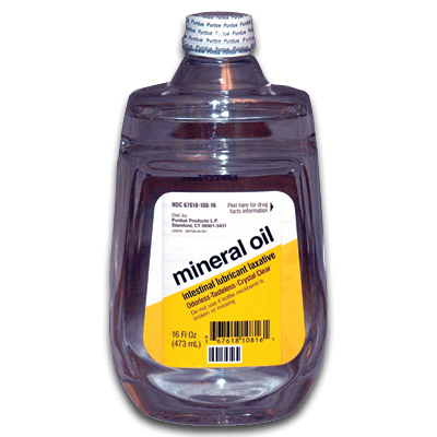 Mineral oil for anal lube