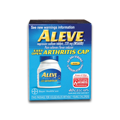 First Aid Kit Pain Relief Advil Aleve Bayer Motrin
