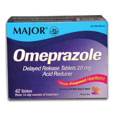 Dosage of prilosec