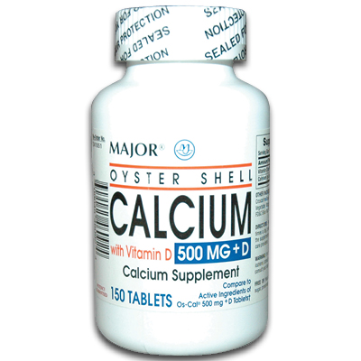 Oyster Shell Calcium Tablets Major Oyster Shell Calcium