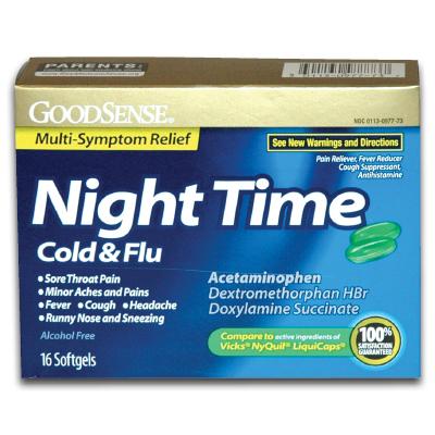 Panadol Cold Flu Day / Tetracycline 500 Mg